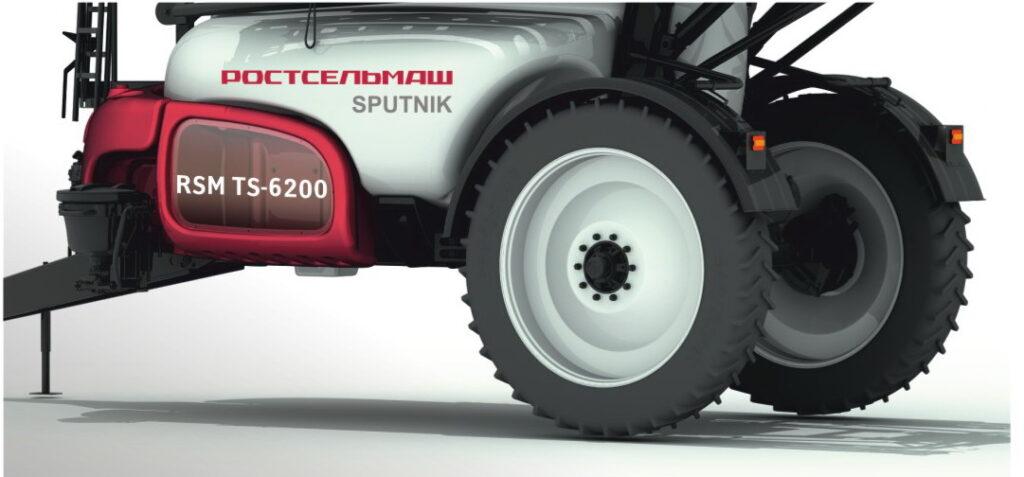 Прицепной опрыскиватель RSM TS-6200 Sputnik Новости  prts-1-1024x477