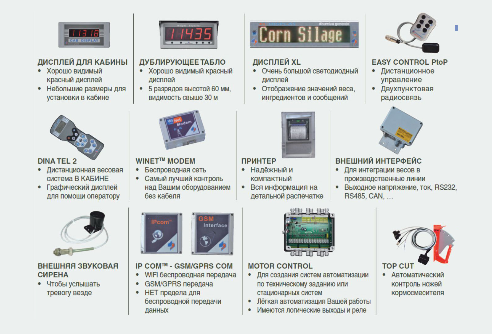 ИНДИКАТОР DG600/SB C ПО DTM И USB  ves_dop_opcii-2